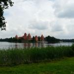 Troki - zamek na Jeziorze Galwe.
