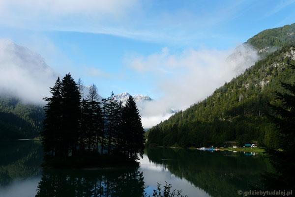 Włoskie Lago del Predil.