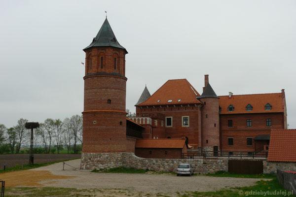 Zrekonstruowany zamek w Tykocinie.