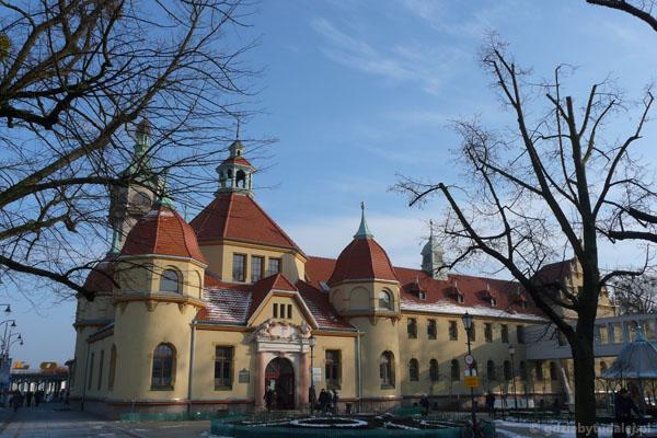 Budynek szpitala reumatologicznego z 1903 r.