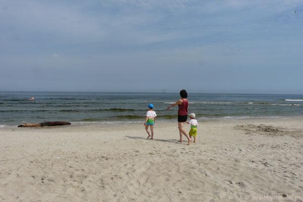 Do morza.