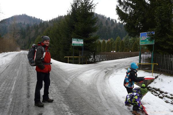 Ośrodek narciarski Bystre.