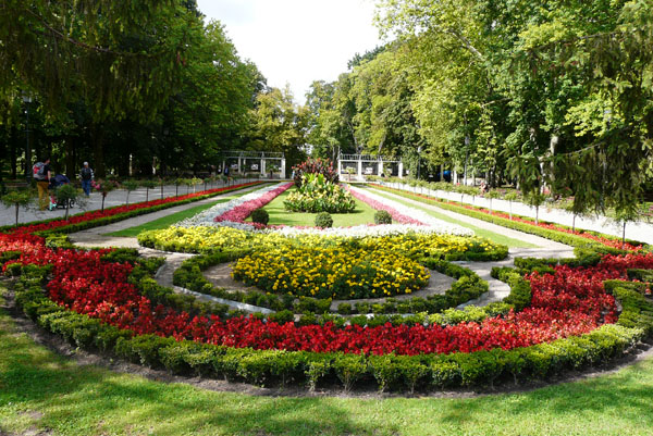 Park Solankowy w Inowrocławiu.