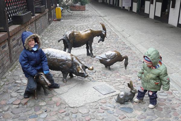Pomnik zwierząt rzeźnych, ul.Jatki.