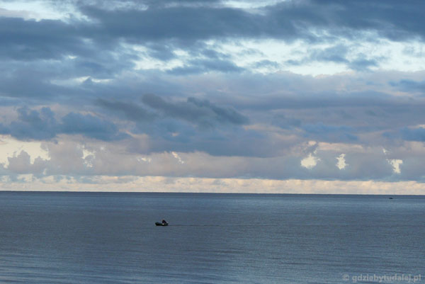 Poranek na Bałtyku, Łotwa.