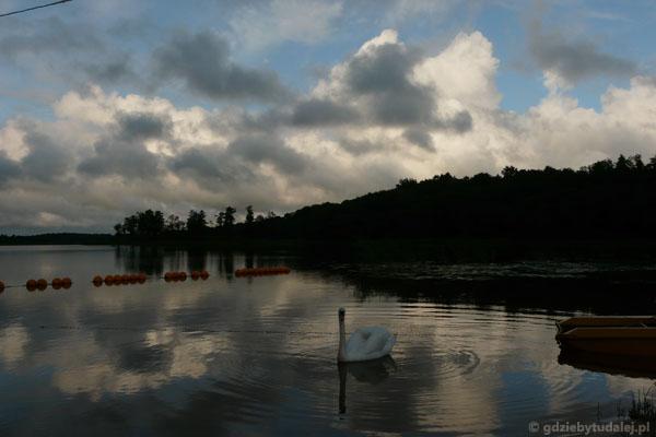 Powitanie Jeziora Bebruszai.