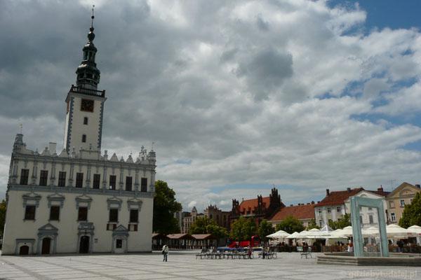 Rynek w Chełmnie.