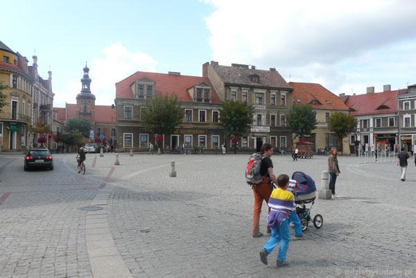 Rynek w Gnieźnie.