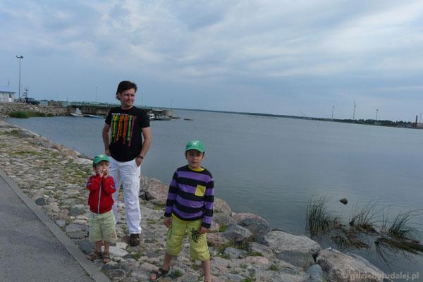 Rzut oka na Bałtyk w Virtsu.