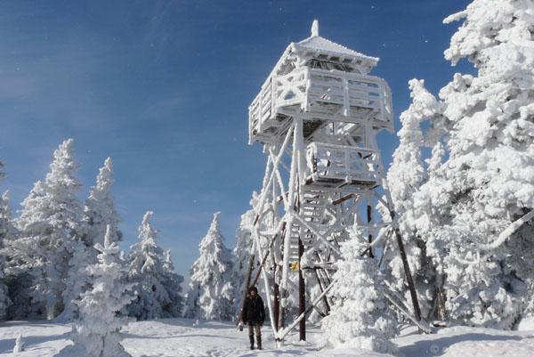Szczyt Czarnej Góry.