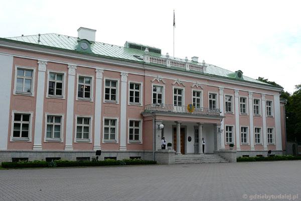 Tallin, pałac prezydencki, XX w.