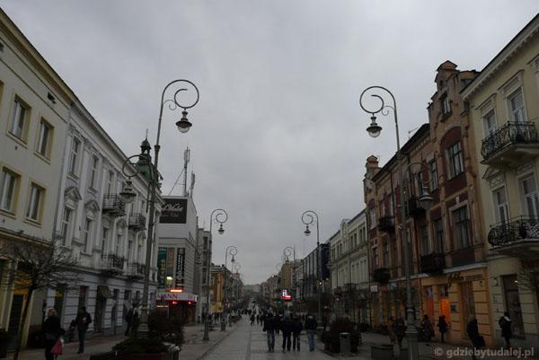 Ulica Sienkiewicza, Kielce.
