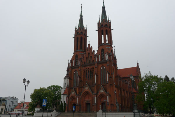 Archikatedra Wniebowzięcia NMP.