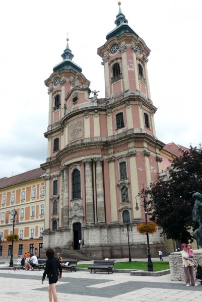Barokowy kościół Minorytów, Eger.