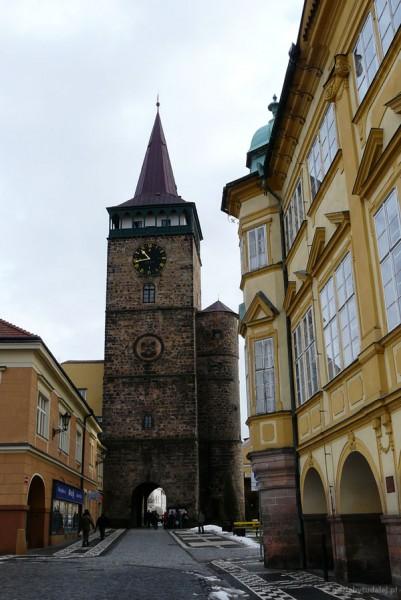 Brama Valdicka (XVI) - część murów obronnych.