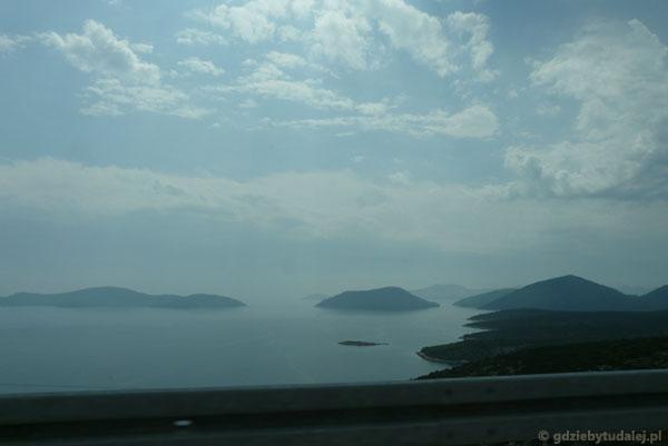 Chorwacja z okien samochodu.