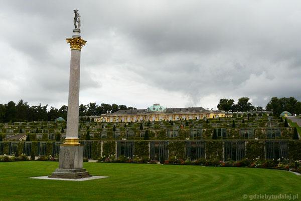 Pałac Sanssouci (XVIII, rokoko).