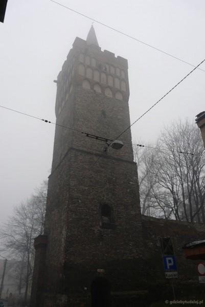 Paczkowskie wieże obronne, XIV w.