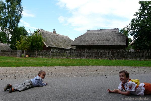 Skansen w Rumszyszkach.