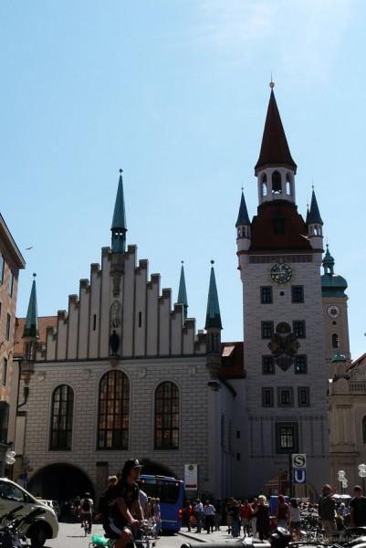 Stary Ratusz , Monachium.