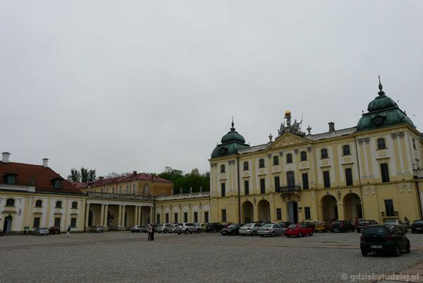 Barokowy Pałac Branickich w Białymstoku (Tylman z Gameren).
