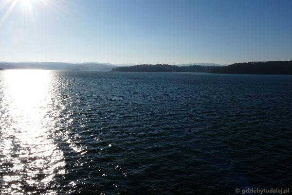 Jezioro Solińskie.