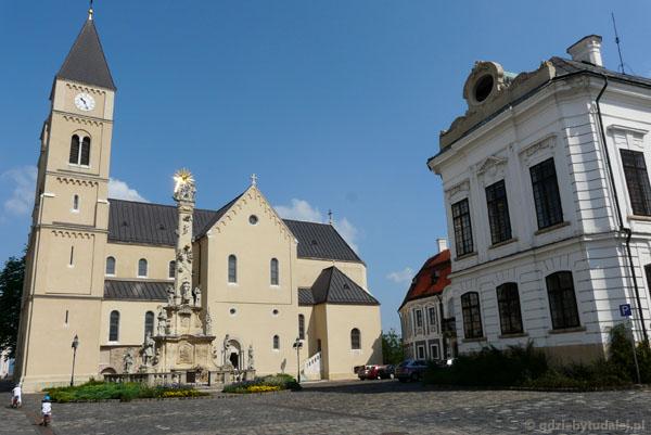 Katedra św. Michała w Veszprem (przeb.XVIII i XX).