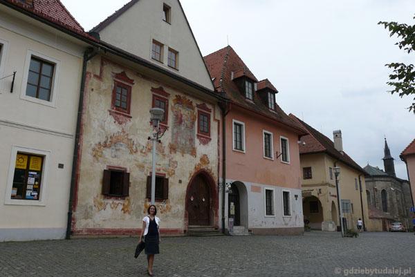Malowana kamienica w Bardiowie.