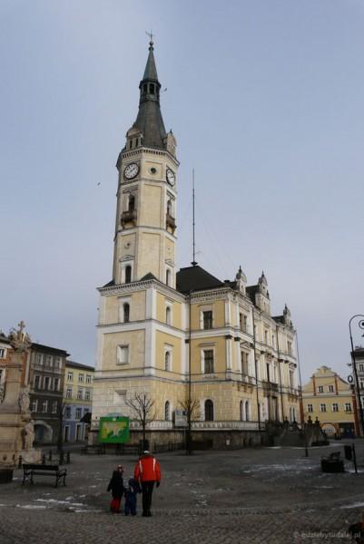 Neorenesansowy ratusz w Lądku-Zdroju.