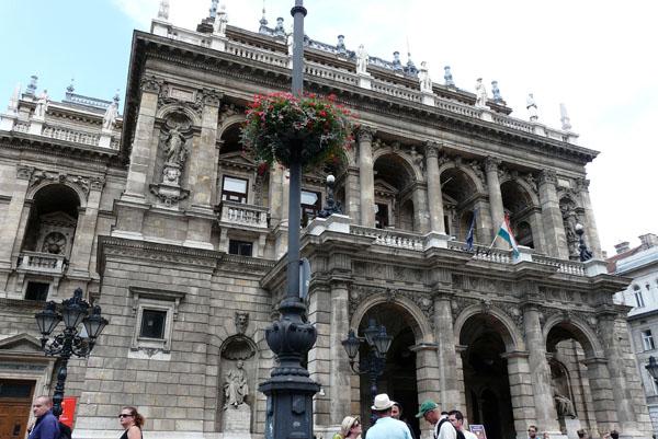 Opera w Budapeszcie.