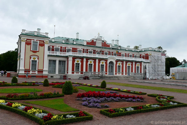 Pałac Kadriorg, XVIII w.