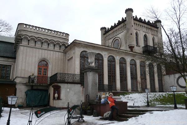 Romantyczny pałacyk (XIX) Zielińskiego, Kielce.