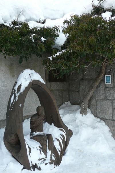 Rzeźba Łazarza.