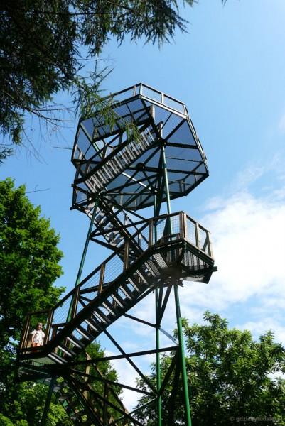 Wieża widokowa nad Morzem Kowieńskim.