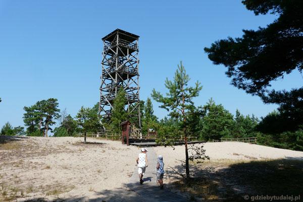 Wieża widokowa w okolicy Rannametsa.