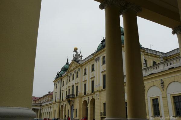 Barokowy Pałac Branickich w Białymstoku.