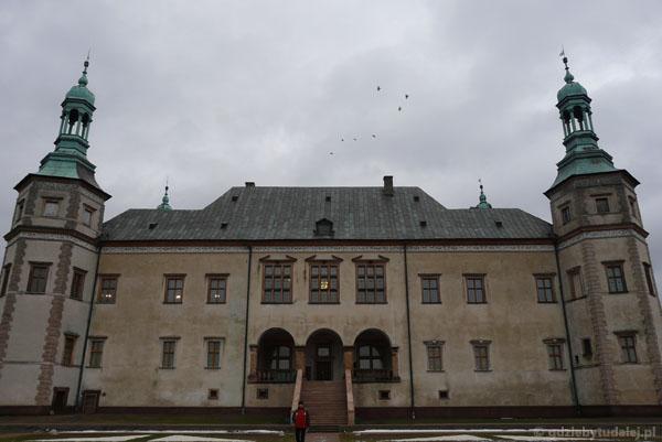Pałac biskupów krakowskich, XVII w.