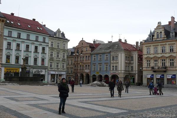 Rynek w Libercu.
