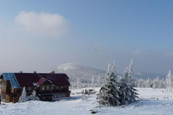 Schronisko PTTK na Śnieżniku.