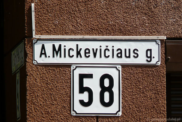 Ul. Mickiewicza.