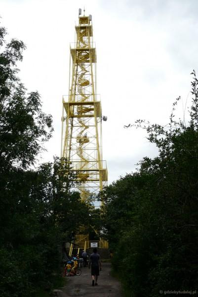 Wieża widokowa (50 m) nad Sas-to.