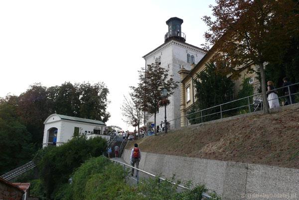 Wzgórze Gradec z Wieżą Lotrščak.
