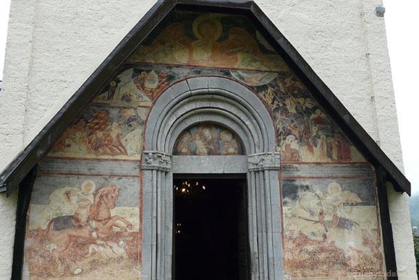 XIII-wieczne freski...