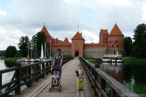 Zamek w Trokach XIV-XV w.