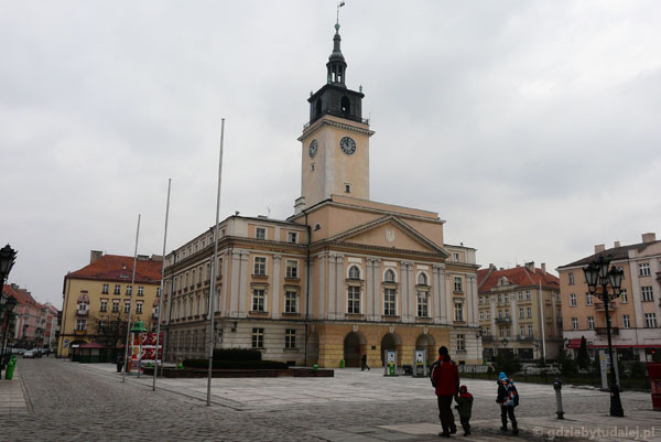 Ratusz (XX) w Kaliszu.