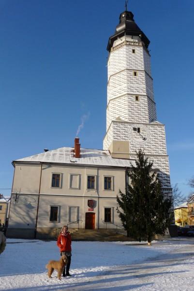 Ratusz ( wieża - XVI w).