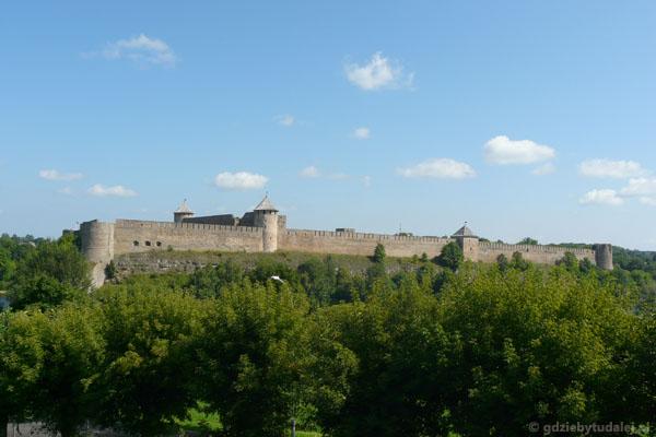 Rosyjski zamek w Iwanogrodzie.