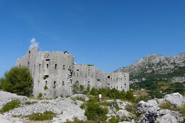Ruiny zamku w Brajići.