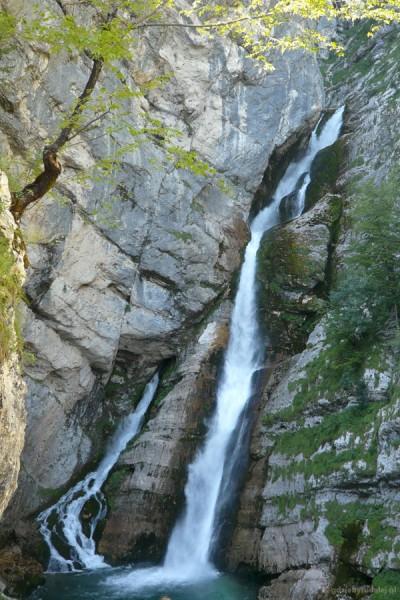 Wodospad Savica.
