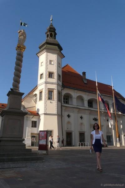 Zamek miejski, XV w, Maribor.